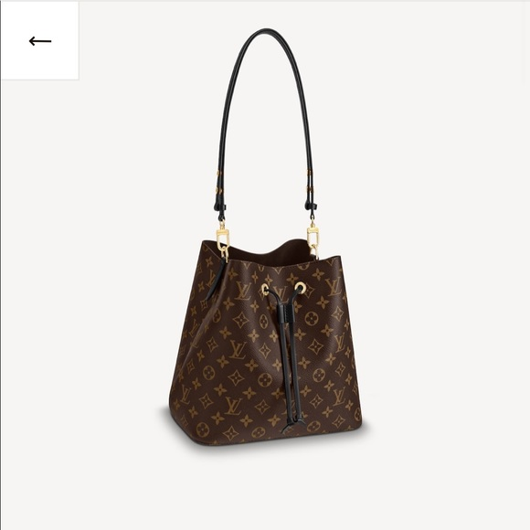 Louis Vuitton authentic Néonoé MM bucket bag